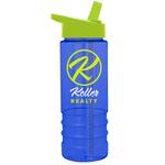 Salute-2, 24 oz Tritan (TM) Bottle with Flip Straw Lid