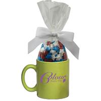 Ceramic Mug Stuffer with Candy Stars