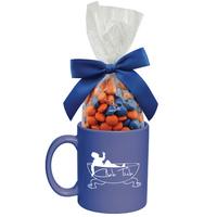 Ceramic Mug with Corporate Color Chocolates