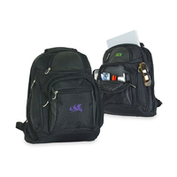 Deluxe Poly Padded Computer Backpack