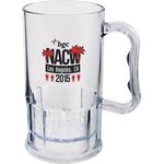 11 oz. Clear Plastic Mug w/Handle