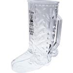 20 oz. Clear Plastic Cowboy Boot Mug w/Handle