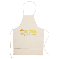 Kitchen Apron with Three Pockets