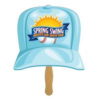 Baseball Hat Sandwiched Hand Fan