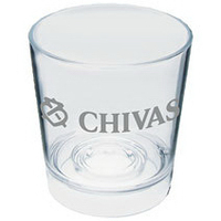 6 oz. Clear Plastic Rocks Glass Sampler