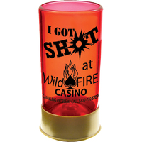 1.5 oz. Colored Plastic Shot Gun Shell Shot Glass