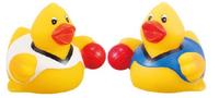 """Rubber """" Dodge Ball Player"""" Duck"""