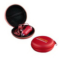 The Ear Bud Charger Kit - Red