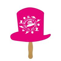Top Hat Hand Fan