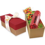 Gift Box with Bottle and Runts