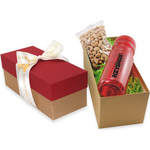 Gift Box with Bottle and Cashews