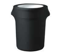Blank Contour Stretch Trash Can Cover