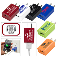 Overseas Hamburg UL Listed USB Wall Charger & AC Adaptor