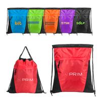 Air Mesh Sports Drawstring Bag