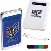 Slimline Power Bank and Phone Pocket