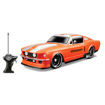 """1/24 Scale 7"""" Remote Control Car 1967 Ford Mustang GT"""