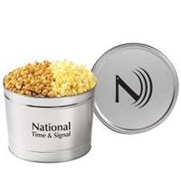 2 Way Popcorn Tin / 1.5 Gallon