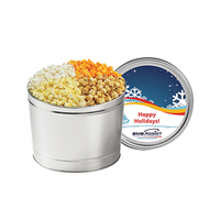 4 Way Popcorn Tin / 1.5 Gallon