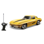 "1/24 Scale 7"" Remote Control Car 1963 Corvette"
