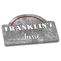 Custom Magnetic Name tags (11 Square Inches)