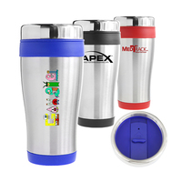 Traveler Double Wall 16oz Stainless Steel Tumbler
