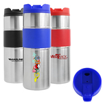 Oceanside Double Wall 16oz Stainless Steel Tumbler