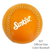 Orange Official Size Baseball - Fashionable & Popular