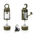 Enhance NIGHTLUX FL2 42 Lumen Camping Lantern w/Hand Crank
