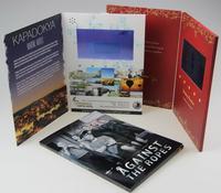 "4.3"" LCD Video Bi-fold Brochure"