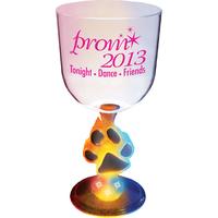 14 oz. Acrylic Light-Up Novelty Base Goblet