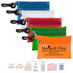 20 Piece Doctor s First Aid Kit in Translucent