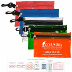 31 Piece Multi-Bandage First Aid Kit in Pouch with Hook