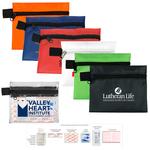 9 Piece Hand Sanitizer First Aid Kit in Zipper Pouch