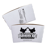 White or Kraft Hot Cup Sleeves - Quick Ship