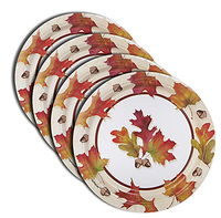 7-Inch Round Paper Plate - Flexographic printed