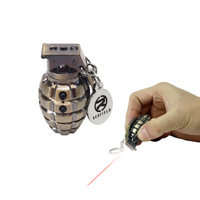 Hand Grenade Laser Pointer LED Key Tag