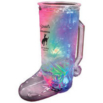 20 oz. Plastic 3 Light, Light-Up Cowboy Boot Mug