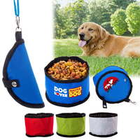 600D Poly Folding Pet Travel Bowl