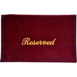Reserved Seat Marker