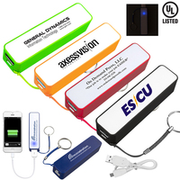 UL Listed 2200 mAh Portable Lithium Ion Power Bank