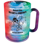 16 oz. Plastic 3 Light, Light-Up Mug w/Handle