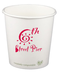 4 Ounce Compostable Paper Hot Cup