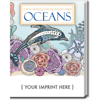 Oceans. Stress Relieving Coloring Books for Adults