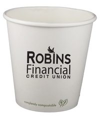 10 oz. Eco-Friendly Paper Hot Cup - Offset Printed