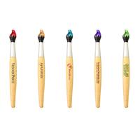 Paint Brush Style Twist Action Ballpoint Pen