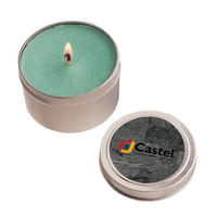 4 oz. Round Tin Soy Candle (Baked Apple)