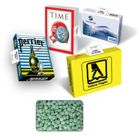 Eco Friendly Advertising Mint Box with Sugar Free Spearmints