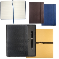 Textured Tuscany™ Journal with Executive Stylus Pen Set