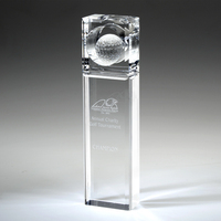 Award-Absolute Golf Trophy 7""