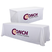24 Hour Quick Ship 8' Convertible Table Throw (Full-Color)